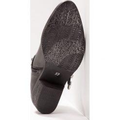 Lazamani Ankle boot black. Czarne botki damskie skórzane marki Lazamani. Za 589,00 zł.