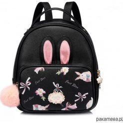 Plecaki damskie: Komiczny plecak z uszami Czarny