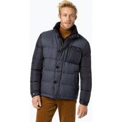 Andrew James - Męska kurtka puchowa, niebieski. Niebieskie kurtki męskie pikowane Andrew James, m, z dzianiny, eleganckie. Za 499,95 zł.