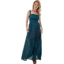 Odzież damska: Sukienka w kolorze morskim