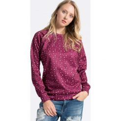 Femi Pleasure - Bluza Malaita. Fioletowe bluzy damskie marki Femi Stories, l, z dzianiny, bez kaptura. W wyprzedaży za 199,90 zł.