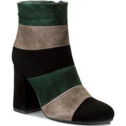Buty zimowe damskie: Botki MACCIONI - 565 Zielony