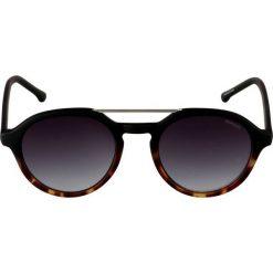 Okulary przeciwsłoneczne damskie aviatory: Komono HARPER Okulary przeciwsłoneczne matte black/turtoise