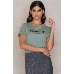 T-shirty damskie: Rut&Circle T-shirt Lovely – Green