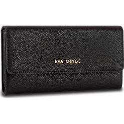 Duży Portfel Damski EVA MINGE - Caridad 2Y 17NB1372186EF  101. Czarne portfele damskie Eva Minge, ze skóry. W wyprzedaży za 139,00 zł.