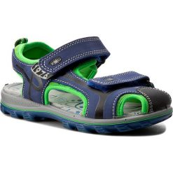 Sandały PRIMIGI - 7661200 S Bluette. Niebieskie sandały chłopięce Primigi, z materiału. W wyprzedaży za 159,00 zł.