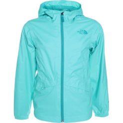 The North Face ZIPLINE RAIN  Kurtka hardshell blue crcao. Niebieskie kurtki dziewczęce sportowe marki The North Face. Za 199,00 zł.