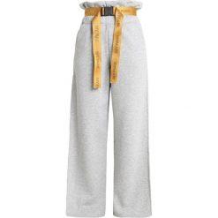 Ivy Park PAPERBAG WAIST WIDE LEG Spodnie treningowe light grey marl. Czarne bryczesy damskie marki Strategia. Za 459,00 zł.