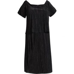 Sukienki hiszpanki: ADIA CREPE PLISEE Sukienka z dżerseju black