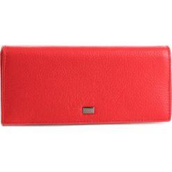 Duży Portfel Damski NOBO - NPUR-LG0140-C005  Czerwony. Czerwone portfele damskie Nobo, ze skóry. W wyprzedaży za 159,00 zł.