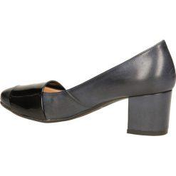 CZÓŁENKA MM OLEKSY 1477. Czarne buty ślubne damskie Casu. Za 229,99 zł.