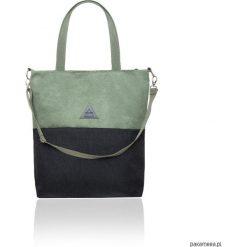 Torba damska na ramię w zieleni. Zielone torebki klasyczne damskie marki Pakamera, z materiału. Za 125,00 zł.