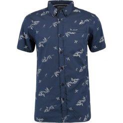 Koszule męskie na spinki: Teddy Smith COURY MC CONFOR Koszula eclipse blue