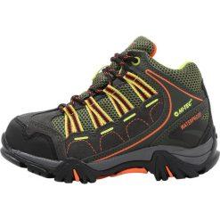 Buty sportowe chłopięce: HiTec FORZA MID WP Buty trekkingowe charcoal/garden green/red orange