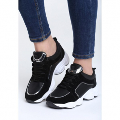 Czarne Sneakersy Long Run. Czarne sneakersy damskie vices, z materiału. Za 89,99 zł.