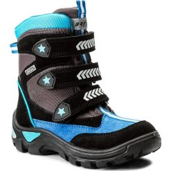 Buty zimowe chłopięce: Śniegowce BARTEK – 24231/64H Szary Kobalt