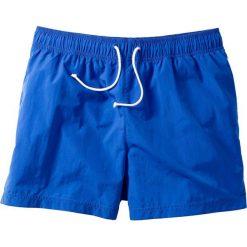 Szorty plażowe bonprix lazurowy niebieski. Niebieskie szorty męskie marki bonprix, w paski. Za 34,99 zł.