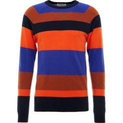 Swetry klasyczne męskie: Essentiel Antwerp KNOX STRIPED RAGLAN Sweter multicoloured