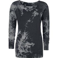 Bluzy rozpinane damskie: Outer Vision Paws Bluza damska czarny/szary