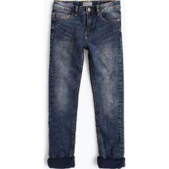 Spodnie chłopięce: Review - Jeansy chłopięce slim fit, niebieski