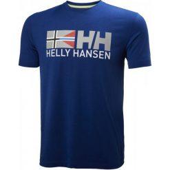 Helly Hansen T-Shirt Męski Rune Ss Tee, Sodalite Blue L. Niebieskie t-shirty męskie marki Helly Hansen. W wyprzedaży za 99,00 zł.