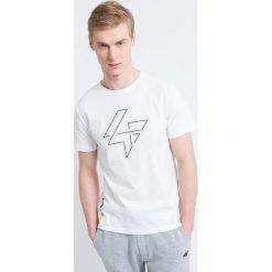 T-shirty męskie z nadrukiem: T-shirt męski TSM232 – biały