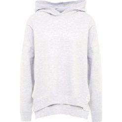 Odzież damska: CLOSED Bluza z kapturem light grey melange