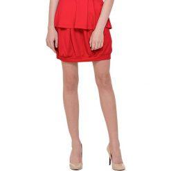 Spódniczki bombki: Spódnica w kolorze czerwonym