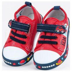 Buty dziecięce: Dziecięce trampki space AMERICAN CLUB czerwone
