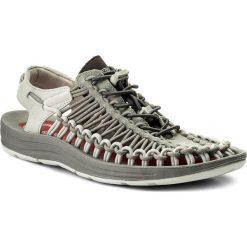 Sandały KEEN - Uneek 1018681 Neutral Gray/Eiffel Tower. Szare sandały męskie marki Keen, z materiału. W wyprzedaży za 269,00 zł.