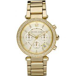 ZEGAREK MICHAEL KORS LADIES GOLD TONE MK5354. Białe zegarki damskie Michael Kors, ze stali. Za 1369,00 zł.