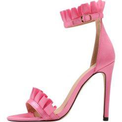 Rzymianki damskie: Public Desire LUCID Sandały na obcasie pink