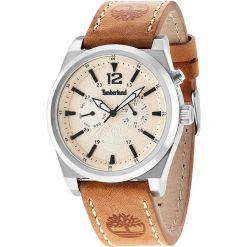 """Zegarki męskie: Zegarek kwarcowy """"Brant"""" w kolorze jasnobrązowo-srebrno-beżowym"""