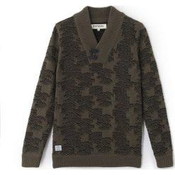 Swetry chłopięce: Sweter z grubej dzianiny, szalowy kołnierz
