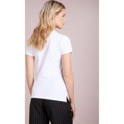 Polo Ralph Lauren JULIE POLO Koszulka polo white. Białe bluzki asymetryczne Polo Ralph Lauren, xl, z bawełny, polo. Za 439,00 zł.