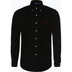 Polo Ralph Lauren - Koszula męska – Slim Fit, czarny. Szare koszule męskie slim marki Polo Ralph Lauren, l, z bawełny, button down, z długim rękawem. Za 529,95 zł.
