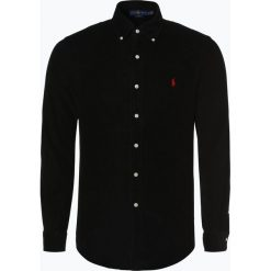 Polo Ralph Lauren - Koszula męska – Slim Fit, czarny. Czarne koszule męskie na spinki Polo Ralph Lauren, m, ze sztruksu, polo. Za 529,95 zł.