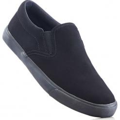 Buty wsuwane bonprix czarny. Szare buty sportowe damskie marki bonprix, z materiału. Za 37,99 zł.