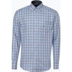 Fynch Hatton - Koszula męska, niebieski. Niebieskie koszule męskie na spinki Fynch-Hatton, l, w kratkę, z bawełny. Za 169,95 zł.