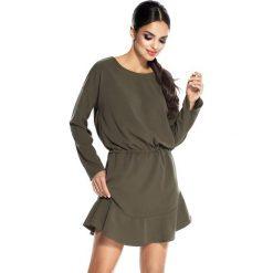 """Sukienki: Sukienka """"Flo"""" w kolorze oliwkowym"""