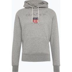 Gant - Męska bluza nierozpinana, szary. Szare bluzy męskie rozpinane marki GANT, m, z bawełny. Za 449,95 zł.