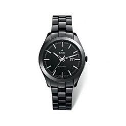 RABAT ZEGAREK RADO HYPERCHROME. Czarne zegarki męskie RADO, ceramiczne. W wyprzedaży za 8280,00 zł.