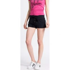Roxy - Szorty. Białe szorty damskie marki Roxy, l, z nadrukiem, z materiału. W wyprzedaży za 79,90 zł.