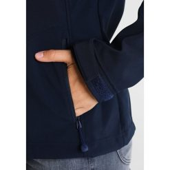 Schöffel TARIJA Kurtka Softshell navy blazer. Niebieskie kurtki sportowe damskie Schöffel, z materiału. W wyprzedaży za 251,40 zł.