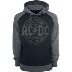 Bejsbolówki męskie: AC/DC We Salute You Bluza z kapturem czarny/szary