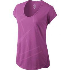 Nike Koszulka tenisowa Court Baseline W 728752-501 XS. Fioletowe topy sportowe damskie Nike, xs. Za 82,59 zł.