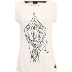 Super.natural GRAPHIC  Tshirt z nadrukiem bones. Szare t-shirty damskie super.natural, xs, z nadrukiem, z poliesteru. W wyprzedaży za 159,20 zł.