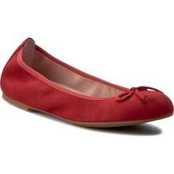 Baleriny UNISA - Acor 17 Ks Red Ksde Ss. Czerwone baleriny damskie zamszowe marki Unisa. W wyprzedaży za 239,00 zł.