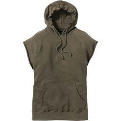 Bejsbolówki męskie: Bluza bez rękawów Regular Fit bonprix ciemnooliwkowy