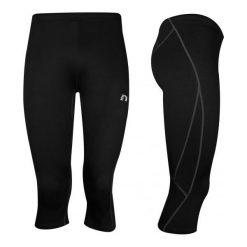 Spodnie dresowe damskie: Newline  Spodnie 3/4 unisex czarne r. S (14409-S)